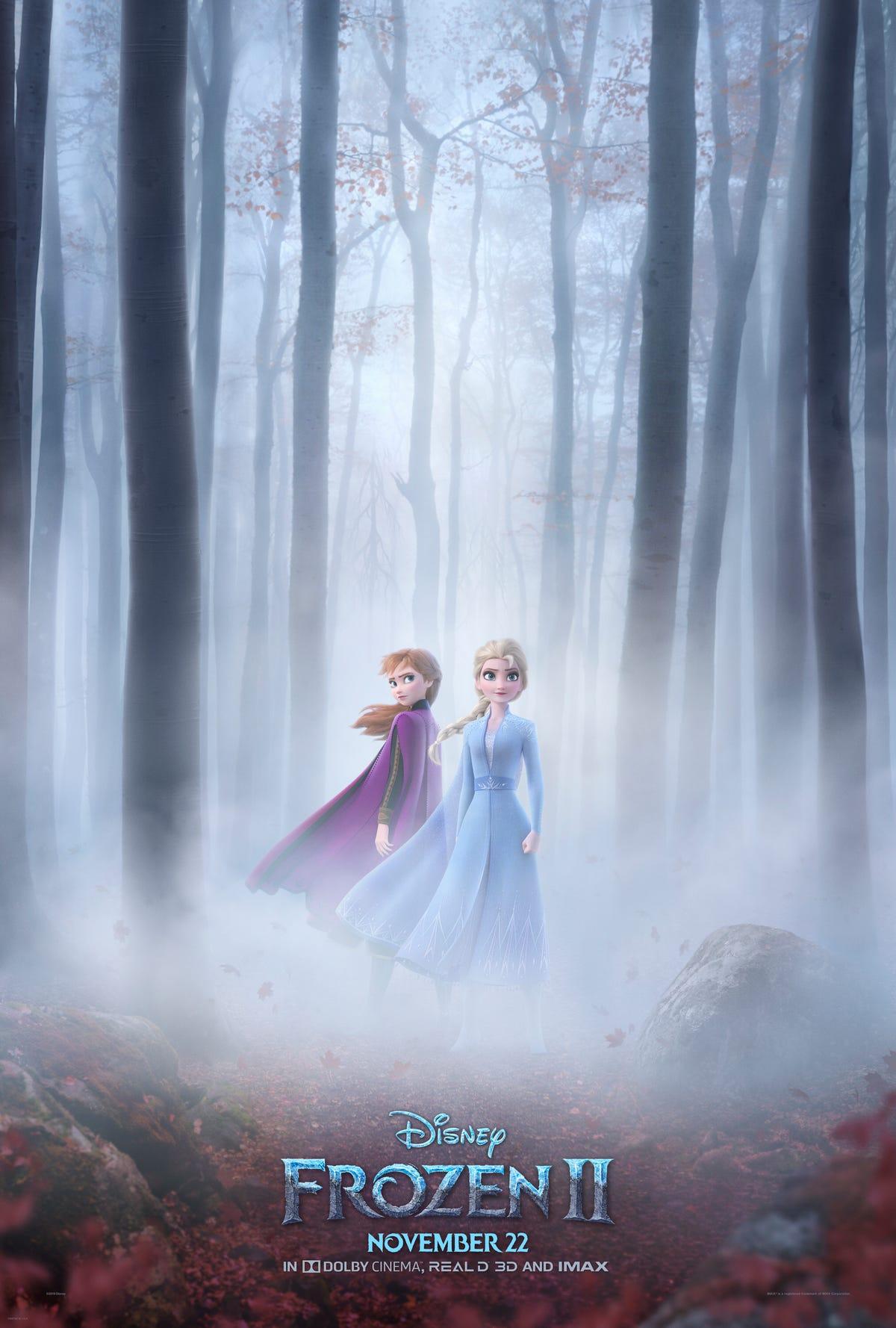 ตัวอย่างใหม่ของ Frozen 2