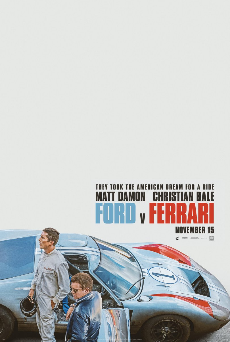 REVIEW: FORD V FERRARI (TIFF 2019)