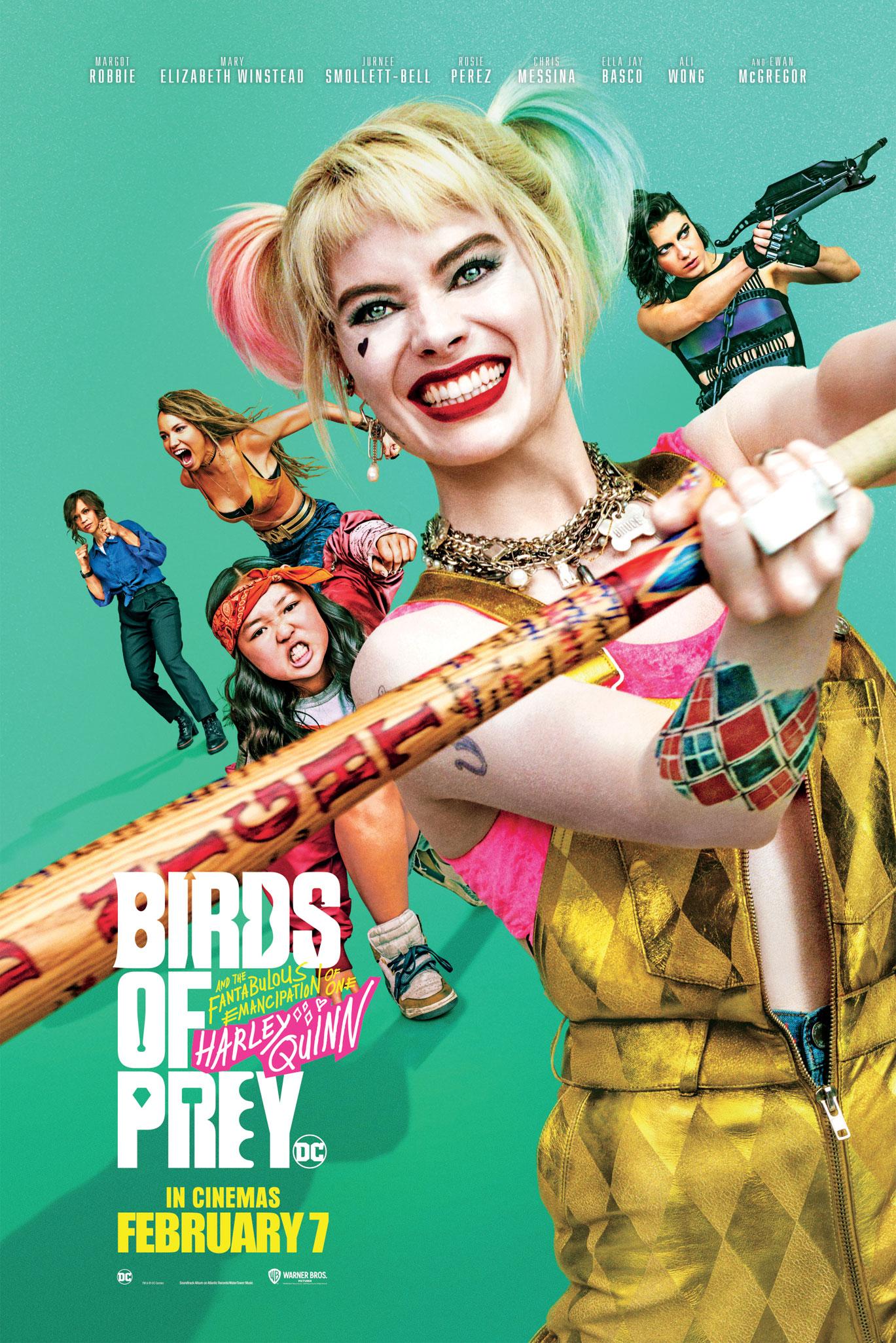 REVIEW: BIRDS OF PREY