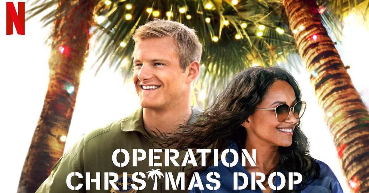 รีวิวหนังฝรั่ง  ภารกิจของขวัญจากฟ้า หนังรัก PR ฐานทัพอากาศสหรัฐ (Operation Christmas Drop)